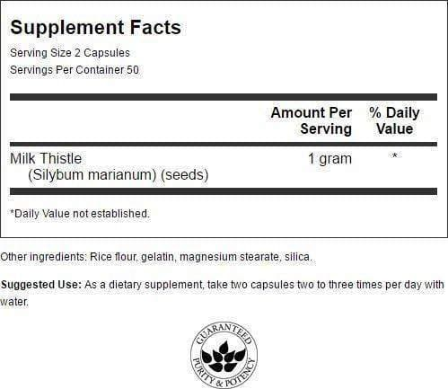 Swanson Milk Thistle - Protein Superstore