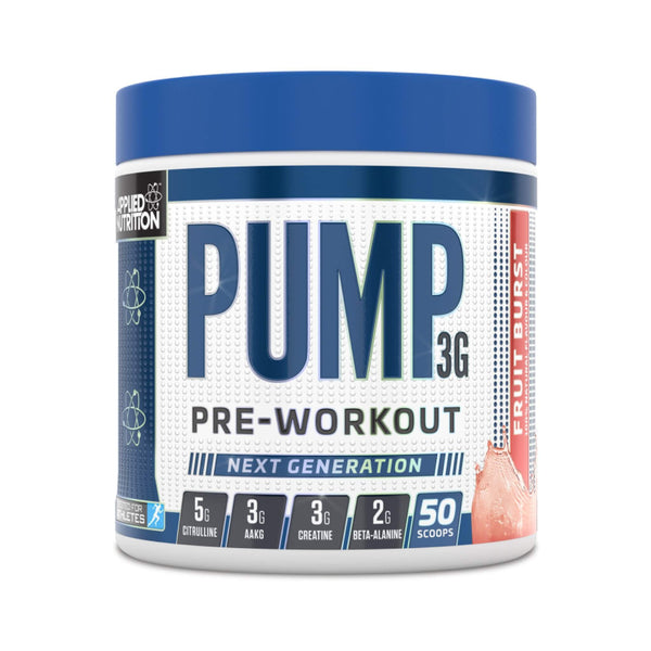 Applied Nutrition Pump 3G Fruit Burst / 50 Scoops Pre-Workout