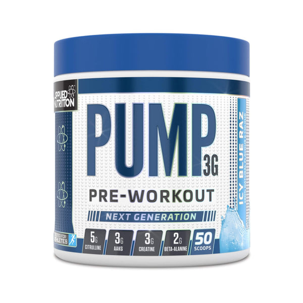 Applied Nutrition Pump 3G Blue Raspberry / 50 Scoops Pre-Workout