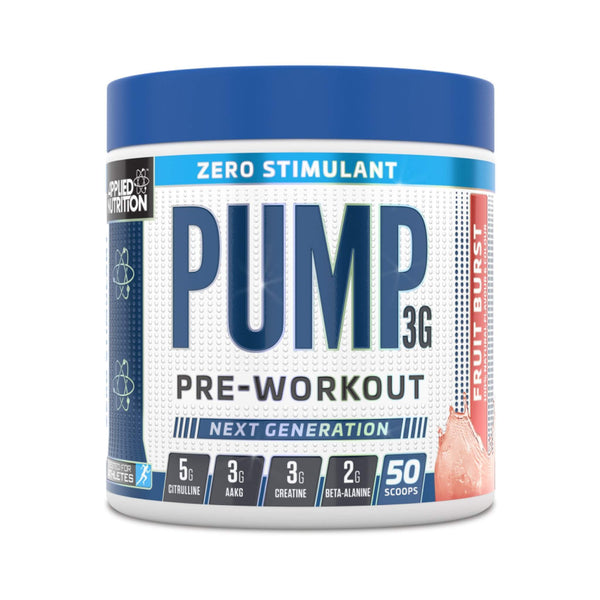 Applied Nutrition Pump 3G Zero Stimulant - Protein Superstore