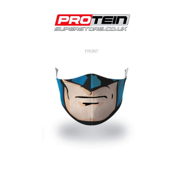 Batman Face Shield Antibacterial ZnO coating - PM0.3 Filtration - Liquid Repellent
