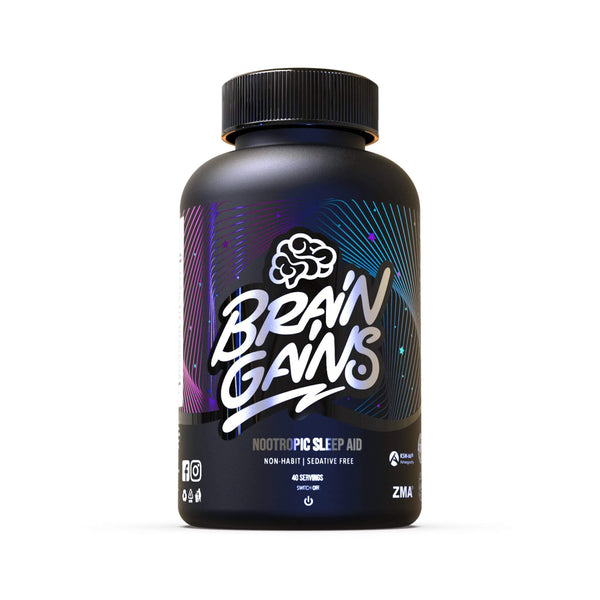 Brain Gains Switch Off Nootropic Sleep Aid (Black Edition)