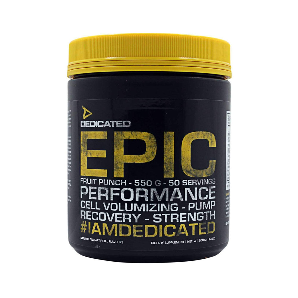 Dedicated Epic Pre-Workout