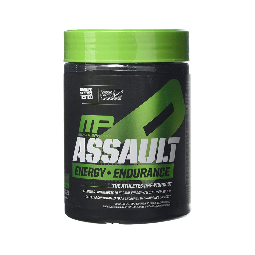 MusclePharm Assault Sport Series Past BBE