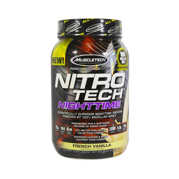 MuscleTech Nitro Tech NightTime - Protein Superstore