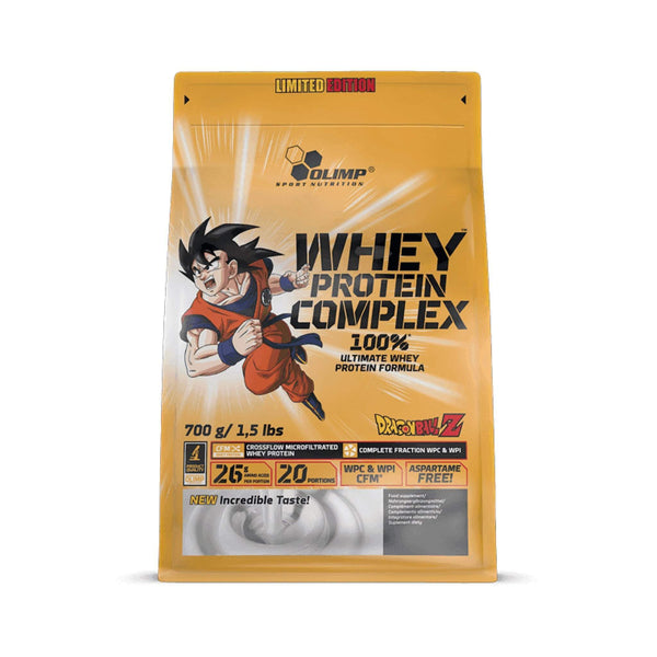 Olimp Whey Protein Complex Dragonball Z Limited Edition - Protein Superstore