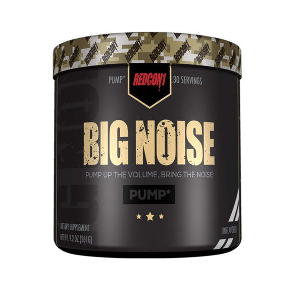 Redcon1 Big Noise Unflavoured / 30 Servings Pre-Workout