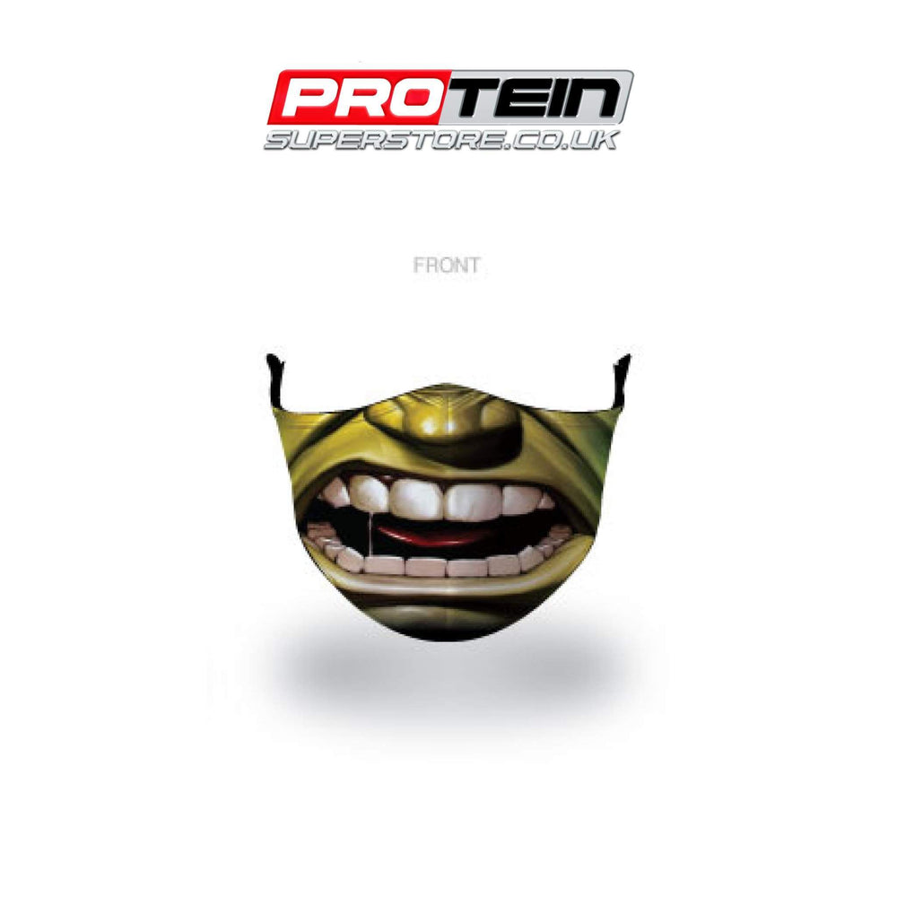 The Hulk Face Shield Antibacterial ZnO coating - PM0.3 Filtration - Liquid Repellent