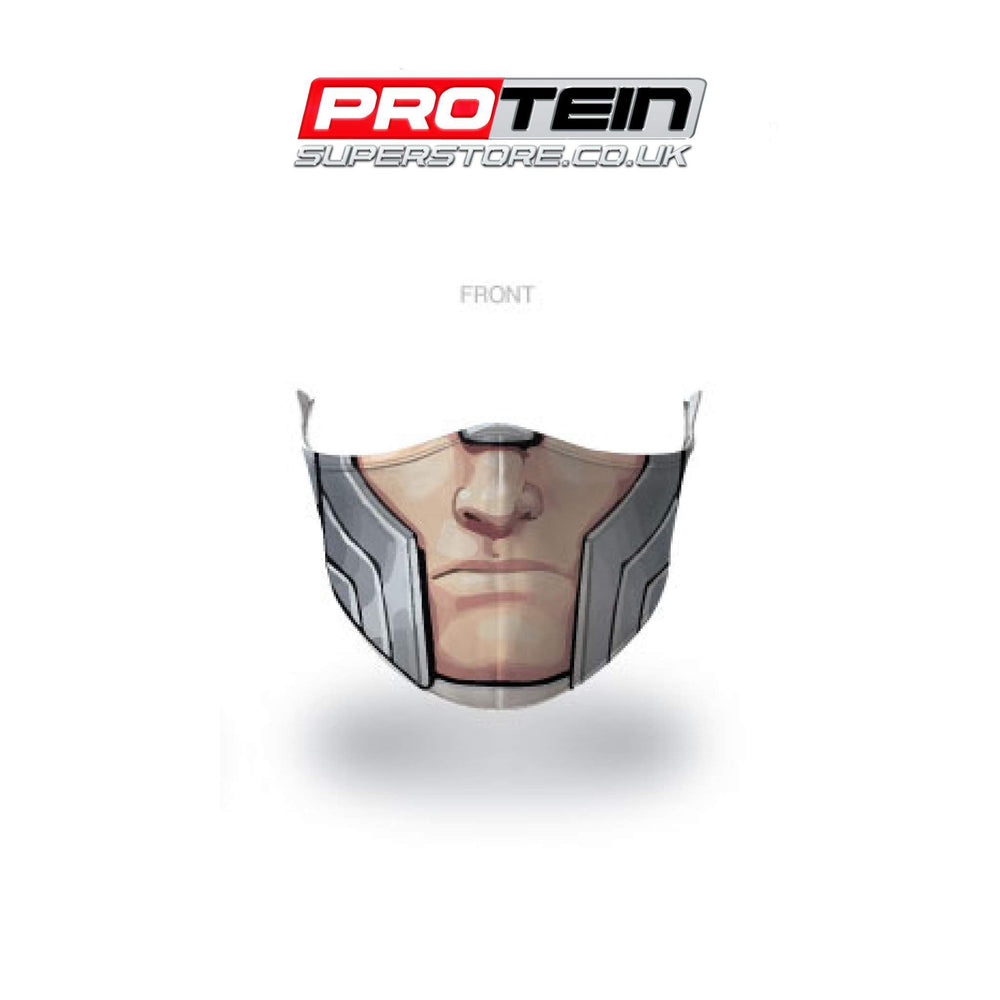 Thor Face Shield Antibacterial ZnO coating - PM0.3 Filtration - Liquid Repellent