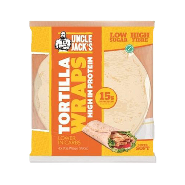 Uncle Jacks Tortilla Wraps - Protein Superstore