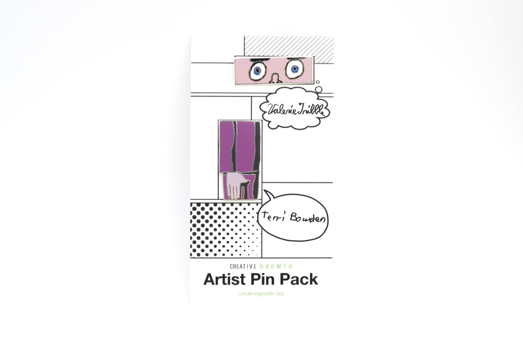 NEW! Artist Pin Pack