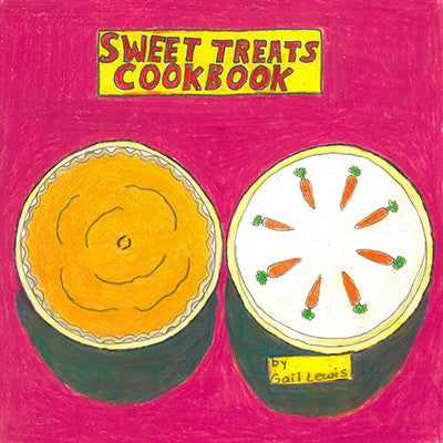 NEW! Sweet Treats Cook Book by Gail Lewis