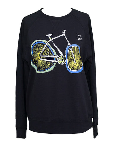 'YES. LIKES. BIKE' Sweatshirt