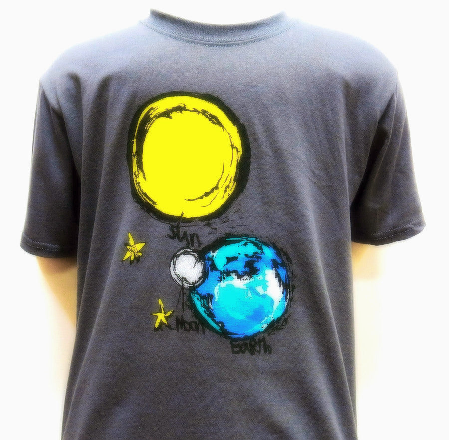 SALE! 'SUN MOON EARTH' Youth T-Shirt