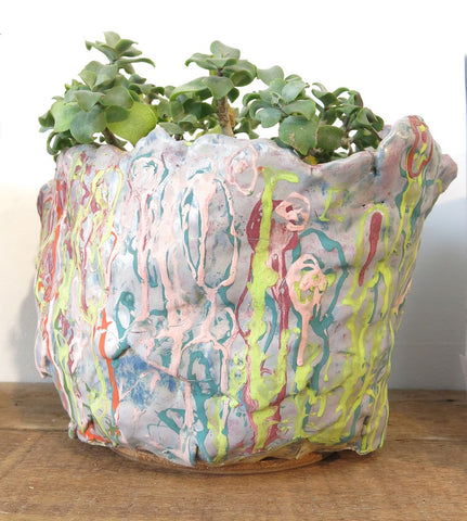 Ceramic Planters by Ruth Stafford
