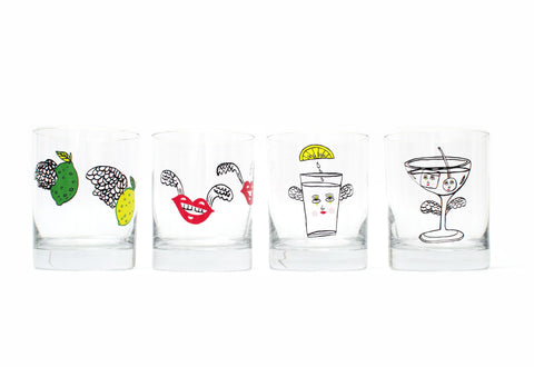 NEW! 'FLYING FLIGHT' Glasses Set