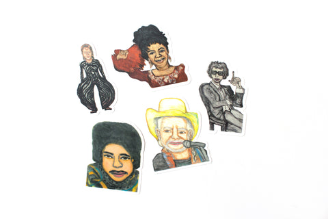 NEW! Kim Clark Sticker Pack