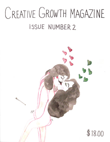 NEW! Creative Growth Magazine Issue 2: The Heart of Love