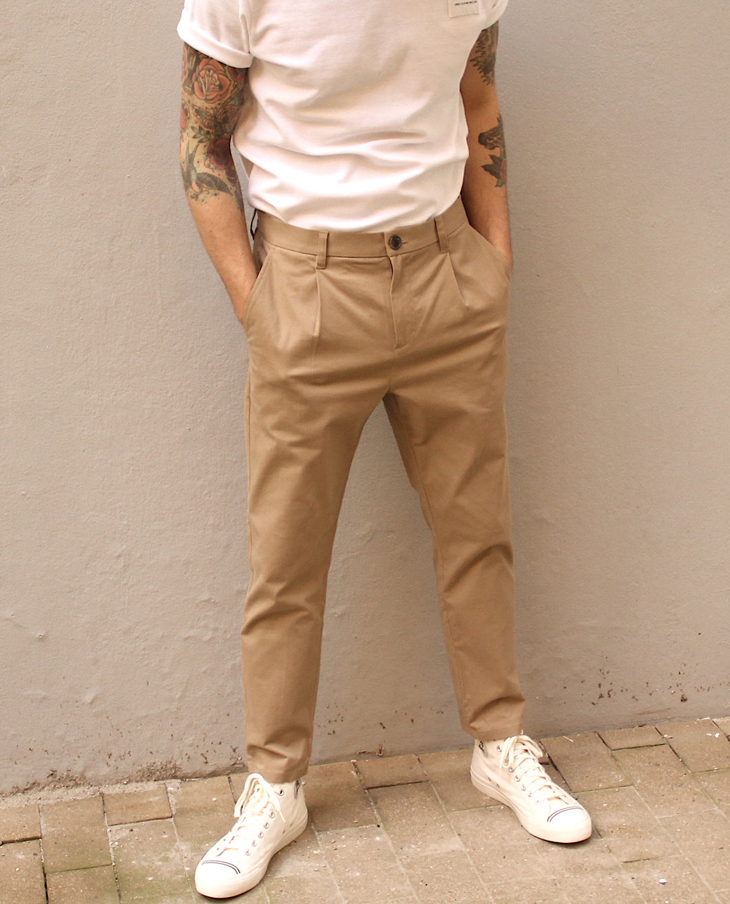 Dominik pants 3150 | Khaki