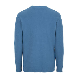 Toby Knit | Steel Blue