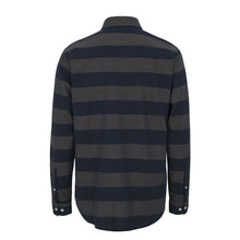 Wearecph Shone LS Shirt Navy Stripe