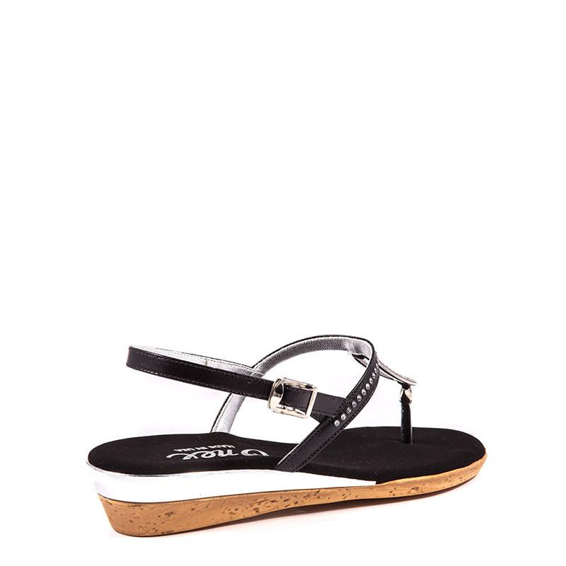 Onex Shoes, Black Cabo Onex Sandal