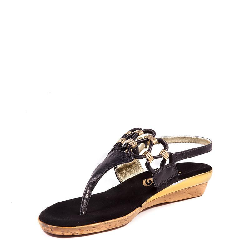 Holly Onex Sandal In Black By Onex Shoes