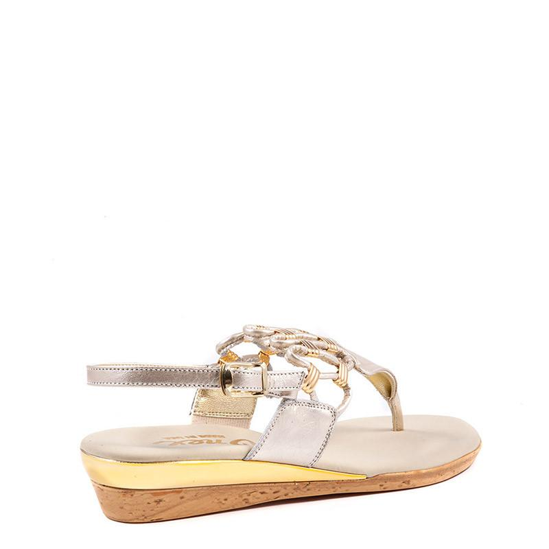 Holly Onex Sandal In Silver By Onex Shoes