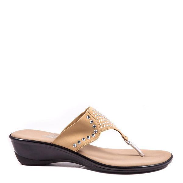 Hope Onex Sandal In Beige By Onex Shoes