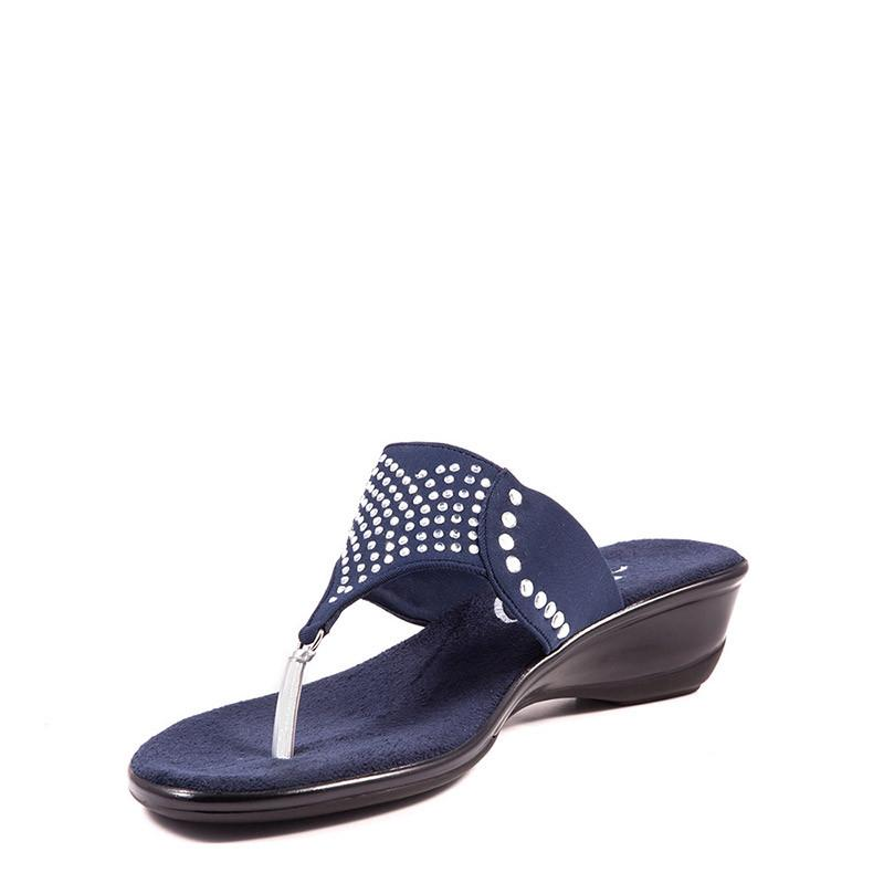 Hope Onex Sandal In Navy By Onex Shoes