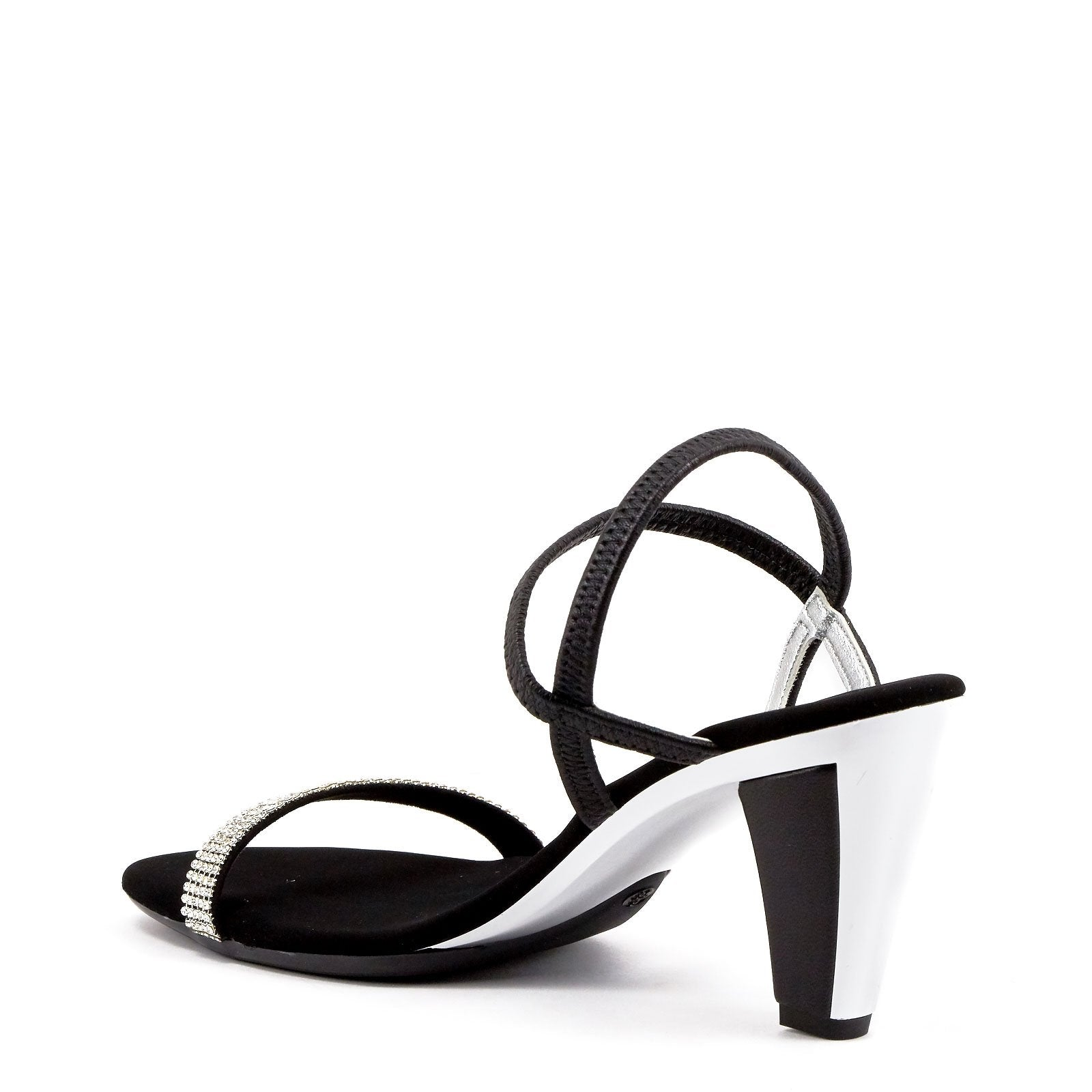 Black Strappy Sandals By Onex Shoes