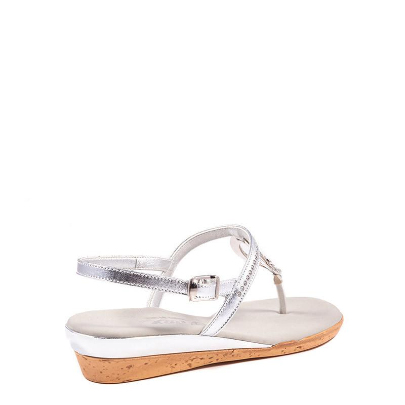 Silver Rolo Onex Sandal By Onex Shoes