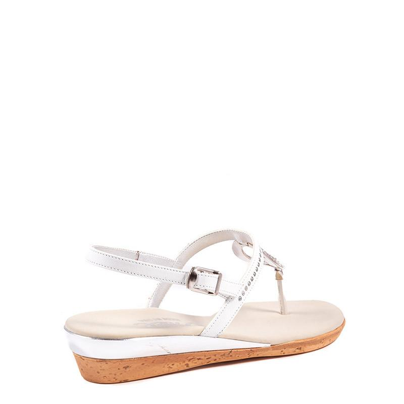 Rolo Onex Sandal In White By Onex Shoes