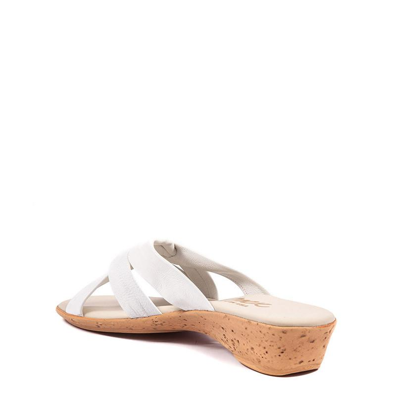 Sail Onex Sandal In White By Onex Shoes