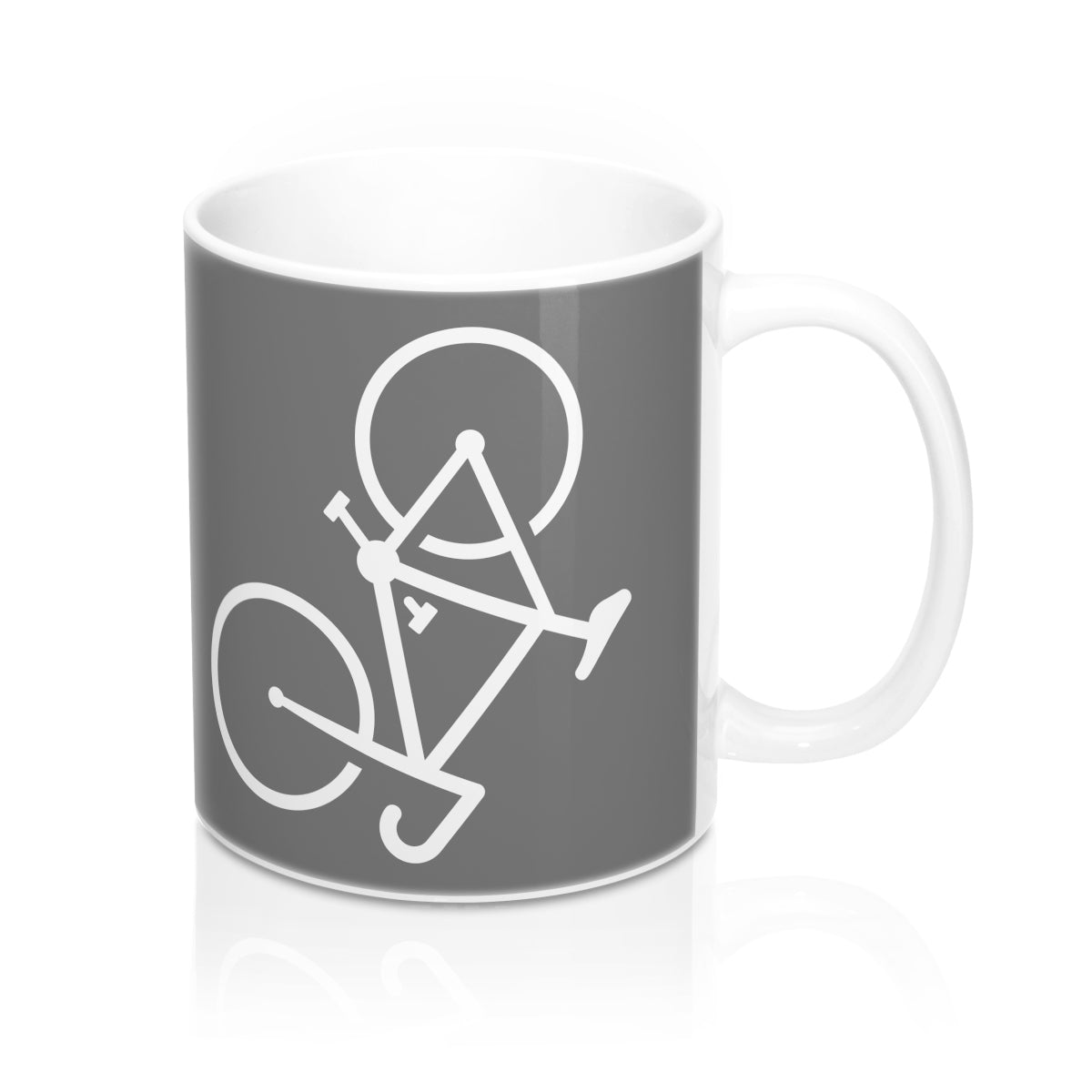 Uphill Industries Coffee Ride Repeat x Bonk Bike Mug - Uphill Industries Cycling Apparel