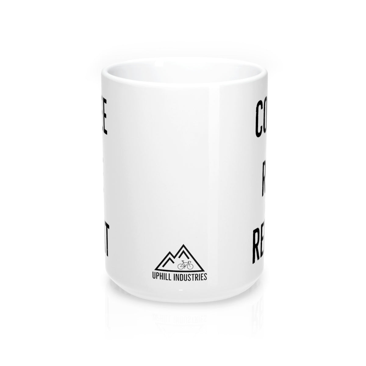 Uphill Industries Coffee Ride Repeat Mug - Uphill Industries Cycling Apparel