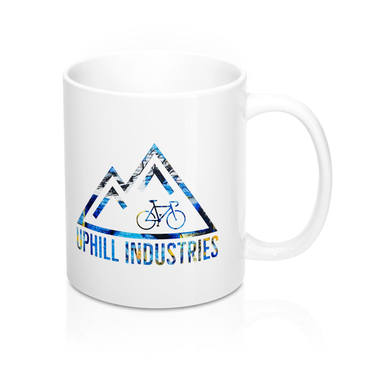 Party Bike Cycling Coffee Mug - Uphill Industries Cycling Apparel