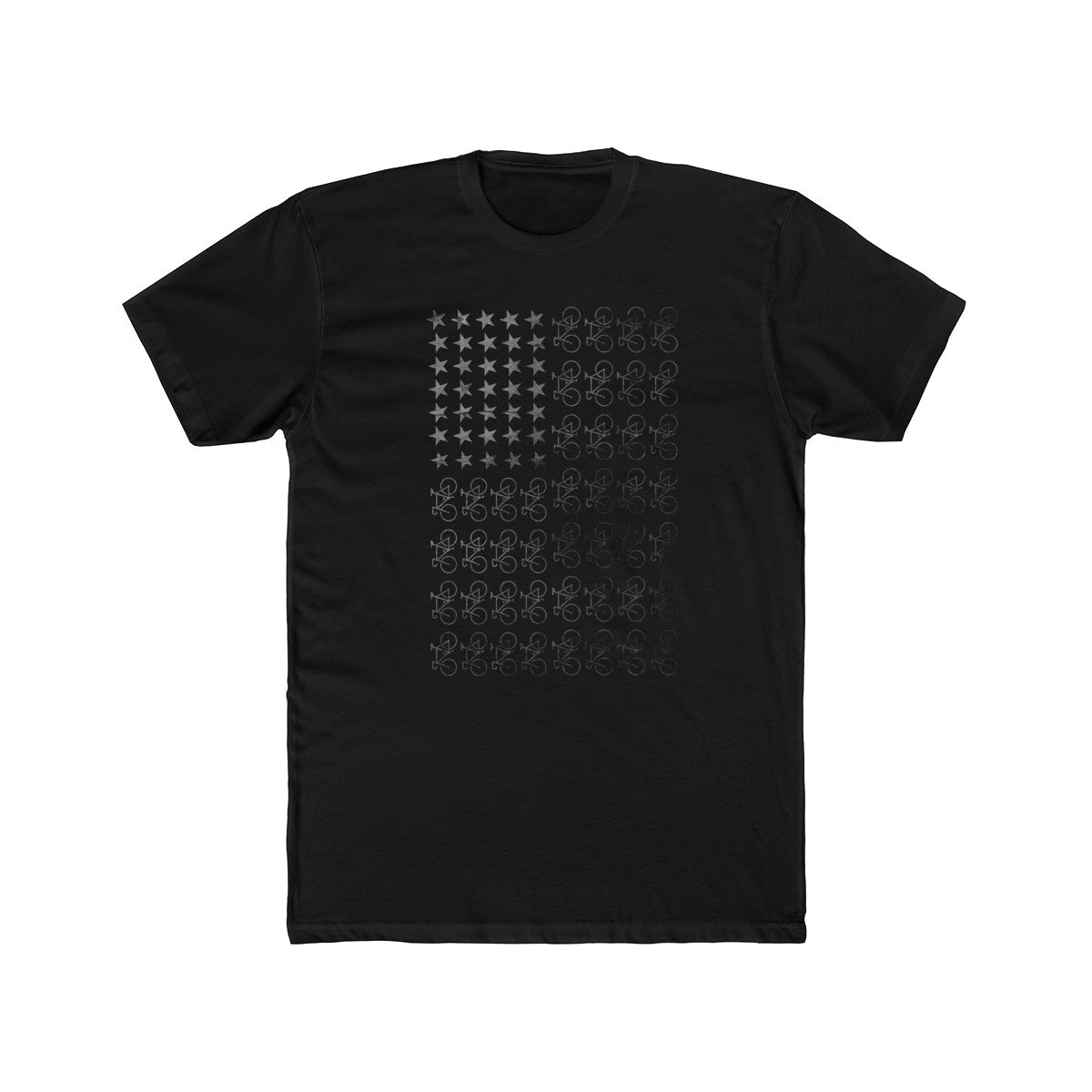 Uphill Industries Freedom Machines Bicycle Flag T Shirt