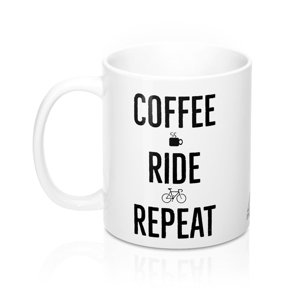 Uphill Industries Coffee Ride Repeat Mug