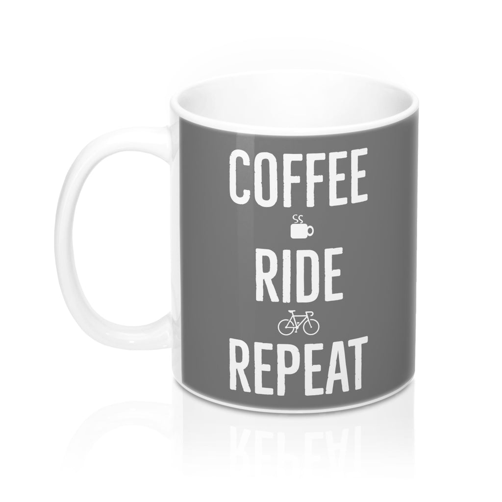 Uphill Industries Coffee Ride Repeat x Bonk Bike Mug