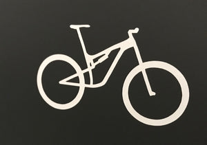 Uphill Industries Niner MTB Simple Cycle Sticker - Uphill Industries Cycling Apparel
