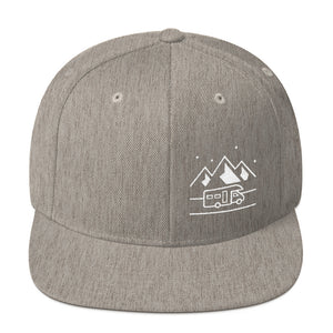 Uphill Industries Happy Camper Snapback Hat
