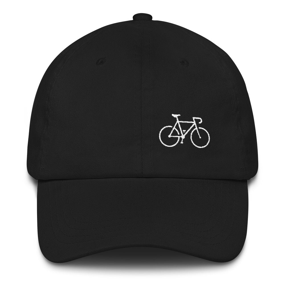 Uphill Industries Simple Cycle Strapback Unstructured Hat - Uphill Industries Cycling Apparel