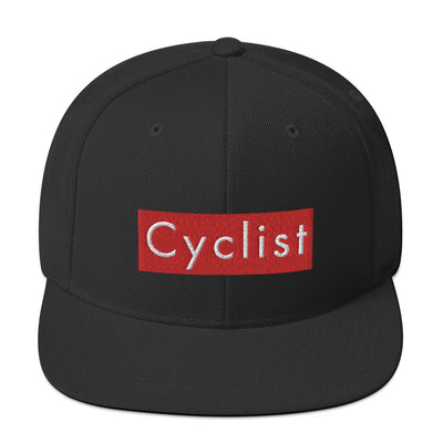 Uphill Industries Cyclist Snapback Hat