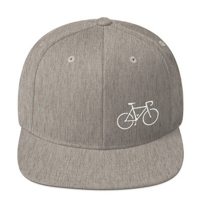 Uphill Industries Simple Cycle Snapback Hat - Uphill Industries Cycling Apparel