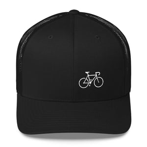 Uphill Industries Simple Cycle Trucker Hat - Uphill Industries Cycling Apparel