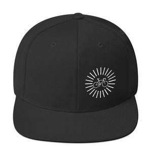Uphill Industries Simple Cycle Sunrise Snapback Hat
