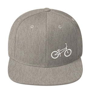 Uphill Industries BMX Simple Cycle Snapback Hat - Uphill Industries Cycling Apparel