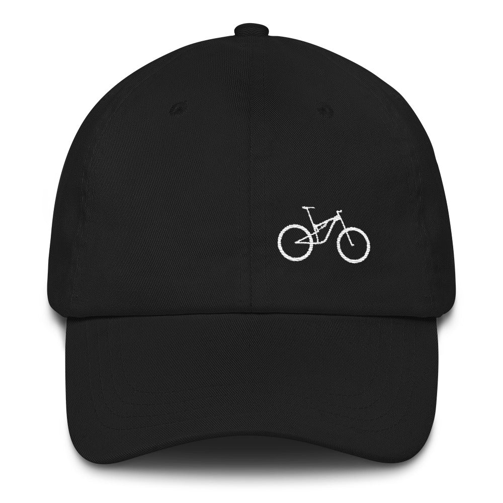 Uphill Industries Simple Cycle Niner Strapback Unstructured Hat - Uphill Industries Cycling Apparel