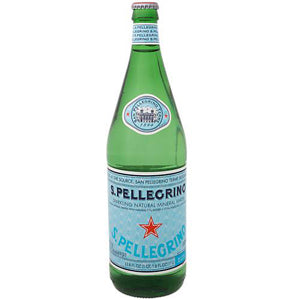 "Pellegrino ""Sparkling"" Mineral Water - Johnnie's New York Pizza 5757 Wilshire Blvd # 102 Los Angeles 90036 www.lajohnniesnypizzeria.com Miracle Mile Johnnys Pizza"